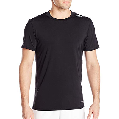 Adidas Men's TechFit Baselayer Compression Short Sleeve