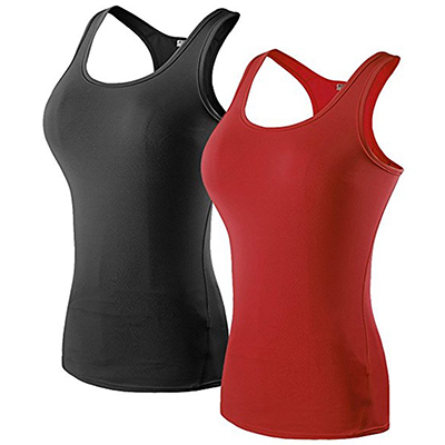 DZRZVD Women's Fitness Fast Dry Compression Tank