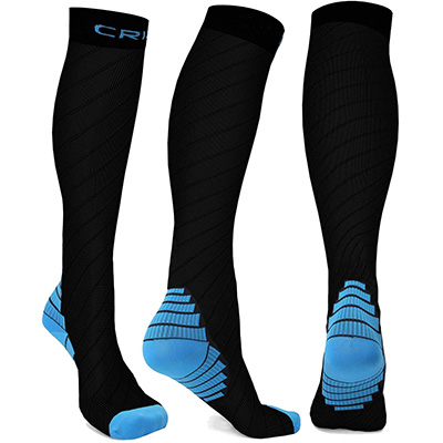 Hoperay Men's Running Compression Socks