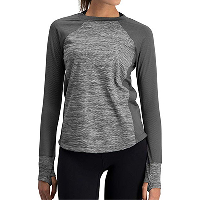 Three Sixty Six Long Sleeve Compression Workout Top